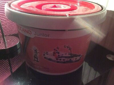 Meccano Junior 150 Piece Bucket Set- 15104 NEW XMAS