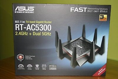 ASUS RT-AC5300 5334 Mbps WIRELESS TRIBAND GIGABIT ROUTER