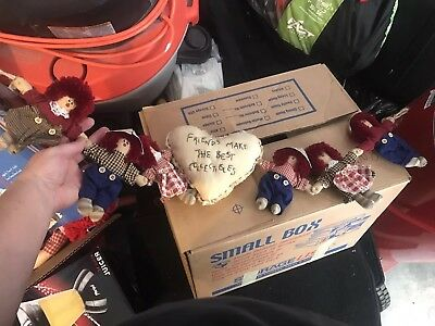 Raggedy Ann and andy Wall Hanging