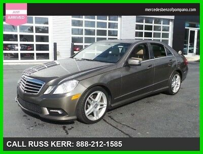 2011 Mercedes-Benz E-Class E 350 Sport 2011 E 350 Sport Used Certified 3.5L V6 24V Automatic Rear Wheel Drive Sedan