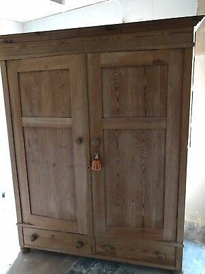 2 Pine Wardrobes 300.00 each