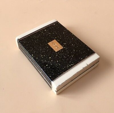 LOVELY SOLID SILVER ENAMEL & 18ct GOLD CIGARETTE CASE C1900, TIFFANY & CO
