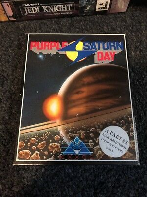 Purple Saturn Day A Exxos Game for the Atari ST Computer tested & working