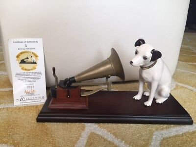 "Royal Doulton ""His Masters Voice - Nipper 1900-2000"" - commemarating 100 years"