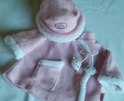 Zapf Creation Baby Annabell Pink Winter Coat & Hat