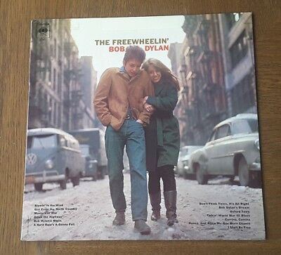 "Bob Dylan The Freewheelin' - Ltd 12"" Vinyl Lp Cbs Us Pressing Pc 8786 Band"