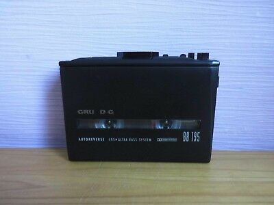 Grundig BB 195 Walkman Stereo Cassette Player