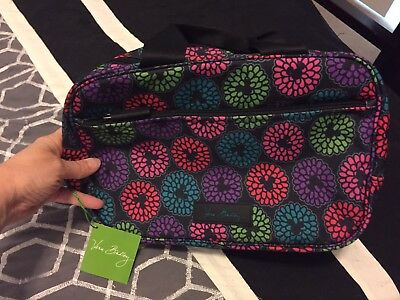 Vera Bradley Magical Blooms Cosmetic Case Organizer Disney Parks Mickey