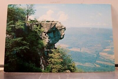 Tennessee TN Chattanooga Lookout Mountain Sunset Rock Postcard Old Vintage Card