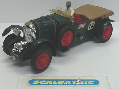SCALEXTRIC LINES FRERÈS Vintage 60's 4.5L GREEN BENTLEY 1929 C64 (SUPERB) FRENCH