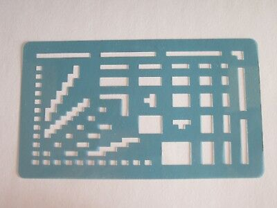 Electronic Knitting Machine Mylar Pattern Template - Used in Very Good Condition