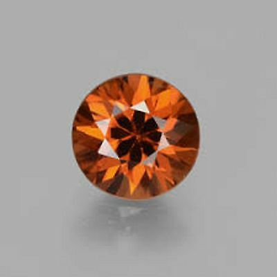 10.70ct. Natural Untreated Round Cut Brown Beautiful Zircon
