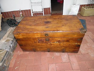 19thC Chest  by Herbert B Hughes..SA Mid North Founder..HISTORIC