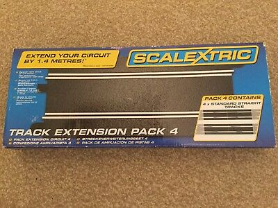 Scalextric Track Extension Pack 4 new