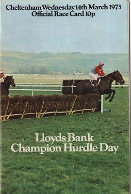 1973 Comedy Of Errors. The Champion Hurdle.