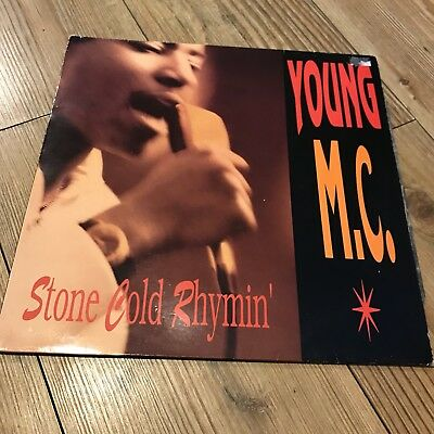 Young Mc Stone Cold Rhymin Delicious Vinyl 1989