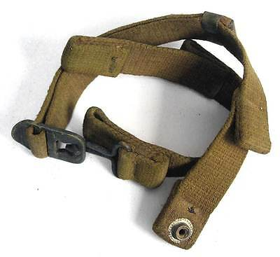US Paratrooper Helmet Chinstrap WW2 M2 Fixed D-Bale Airborne WWII Helm AGED