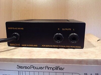 Accessit Stereo Power Amp owned by Viv Stanshall of Bonzo Dog Doo-Dah Band