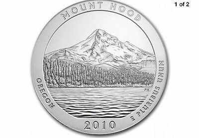 2010 D Mt. Hood National Forest (OR) Quarters Free Ship