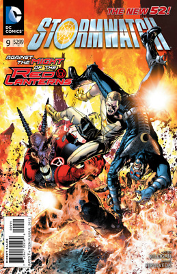 Stormwatch # 9 (DC the New 52)