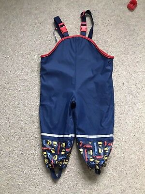 All In One Waterproof Dungarees - 12-24 Months (1-2 Years)
