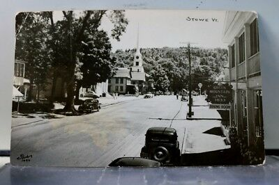 Vermont VT Stowe Green Mountain Inn Postcard Old Vintage Card View Standard Post