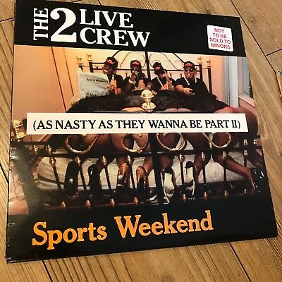 Two Live Crew Sports Weekend Vinyl Lp 1991 Hip Hop