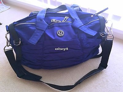 Lululemon Destined For Greatness Duffel Tote Bag Pigment Blue