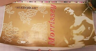 "Morrissey Suedehead Original Proof 12"" Artwork Uncut Proof Very Rare The Smiths"