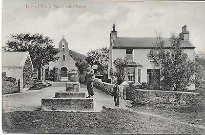 Maughold Church I.O.M.- Old U/U P/C - (Pub.Stengel & Co) Near Mint Condition !