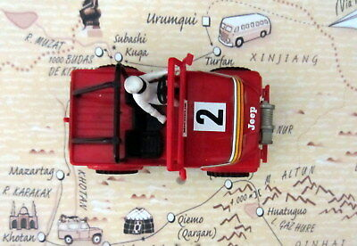 Scalextric Exin Sts 4X4 Jeep Rojo