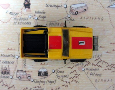 Scalextric Exin Sts 4X4 Nissan Patrol Amarillo