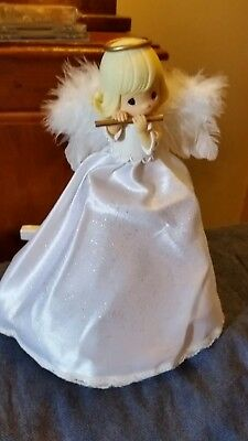 Precious Moments 2003 Angel Christmas Tree Topper  Holiday Decoration