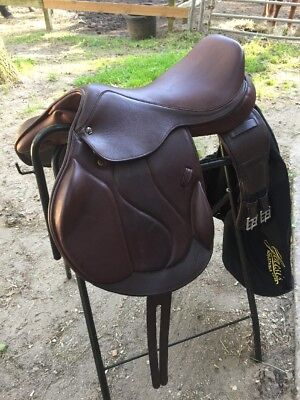 Marcel Toulouse Marielle Genesis Monoflap Saddle With Girth