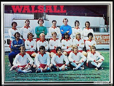 Football Team Picture Walsall Shoot