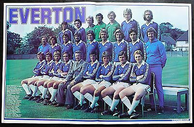 Football Team Picture Everton Shoot