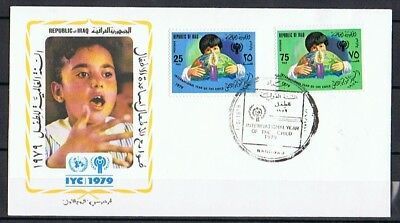 IRAQ , IRAK FDC 1.6.1979 Baghdad INTERNATIONAL YEAR OF THE CHILD