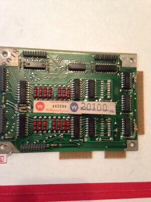 WILLIAMS PINBALL DISPLAY DRVR BOARD, Black Knight 5760-09461-00 For Parts Or Res