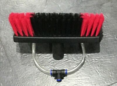 sill cill hi-lo 90 brush. 2mm pencil jets with quick release T. Extend2wash.