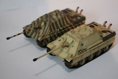 Easy Model - 1/72 - 2 X Jagdpanther (Late Version) - Loose No Box
