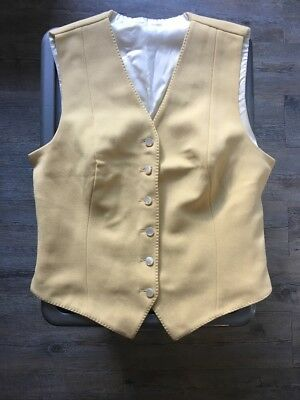 Turn Out Vest - Banana - K.Ritchie Size 36