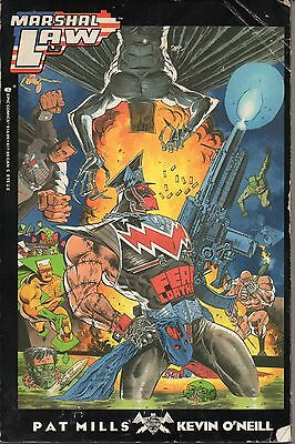 Marshall Law - Fear & Loathing (1990) Epic Comics 1-6 Paperback