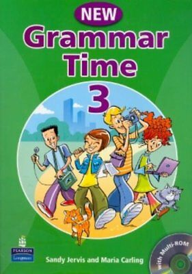 NEW GRAMMAR TIME 3 with Multi-ROM (Downloadable) FREE SHIPPING