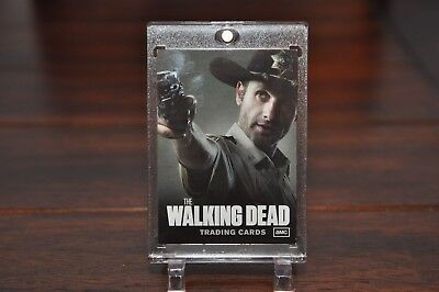 The Walking Dead Season 1  Promo Card  NNO  RICK GRIMES  SDCC  Rare