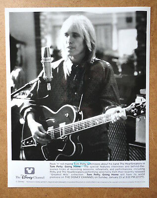 Tom Petty Going Home Disney Channel 1994 Promotional Press Photograph B/w Ex