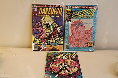 Lot of Marvel Daredevil 165-170 (1964) Frank Miller