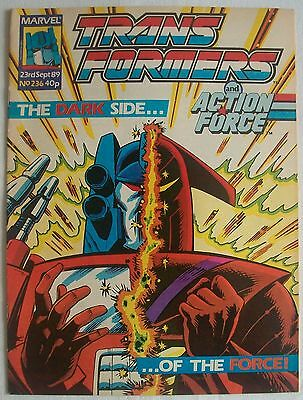 Transformers UK Comic Issue 236