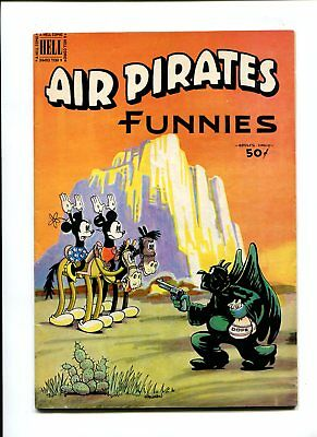 Air pirates funnies #1 vfnm 9.0 1st print scarce Drug cover Disney