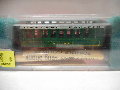"Roundhouse MDC - N-Scale Central Pacific 34' Overton Coach Kit ""Truckee"""