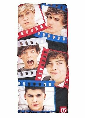 One Direction 'Hero' Sleeping Bag Camping Travel Sleepover Sac Brand New Gift